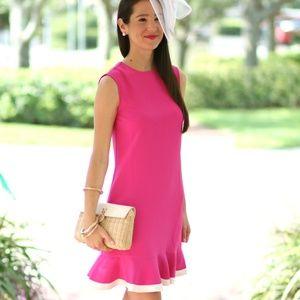 Victoria Beckham Fushia Dress